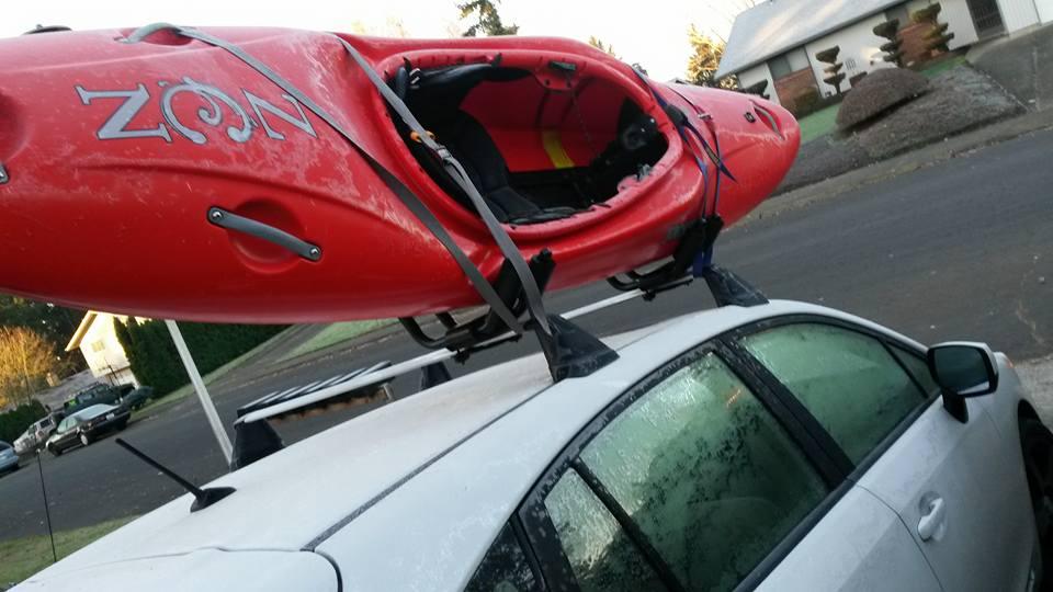 Jackson Kayak Zen ontop of my Subaru Impreza