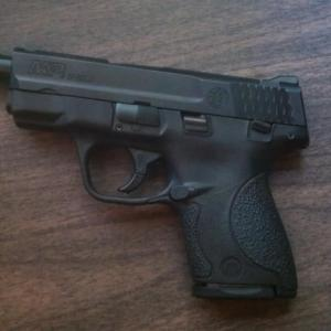Shield 9mm with threaded barrell