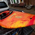 Jackson Kayak Antix in the back of my truck.